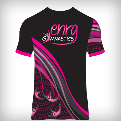Enrg Gymnastics polo back